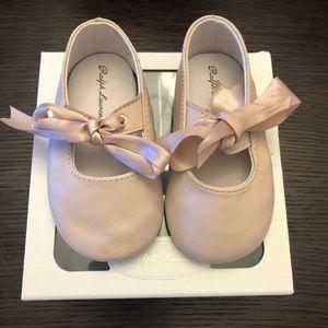 Baby girl shoes Ralph Lauren size 4